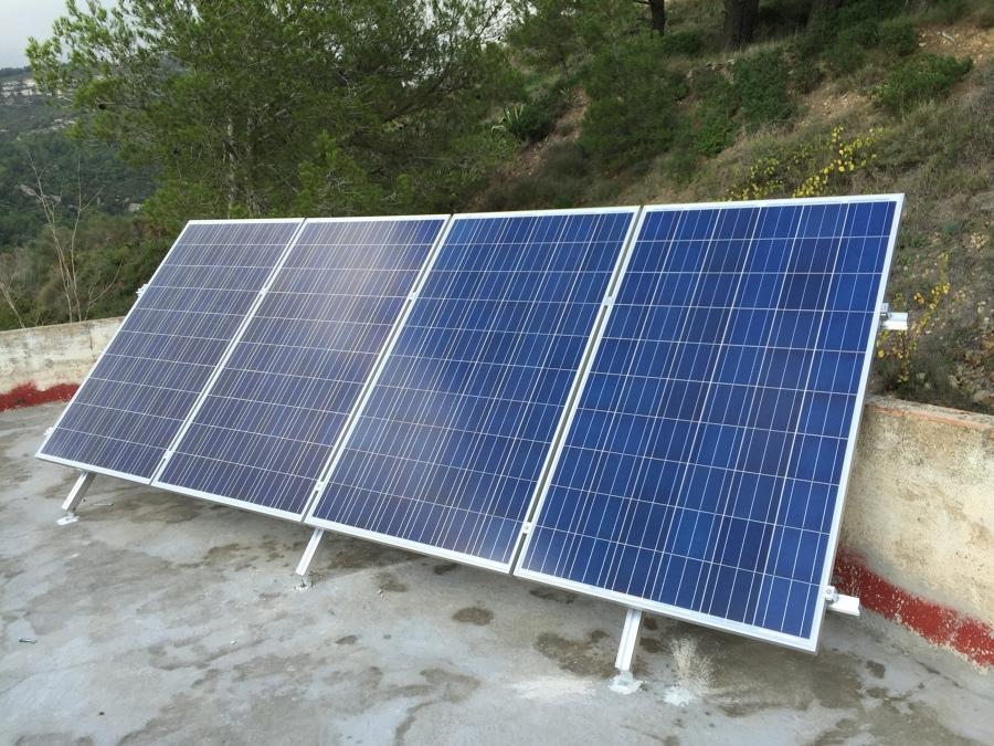 Energía solar fotovoltaica aislada