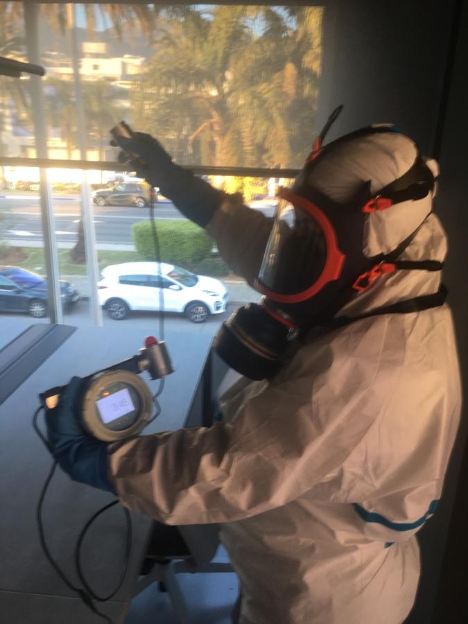 Desinfecion / tratamiento con Ozono