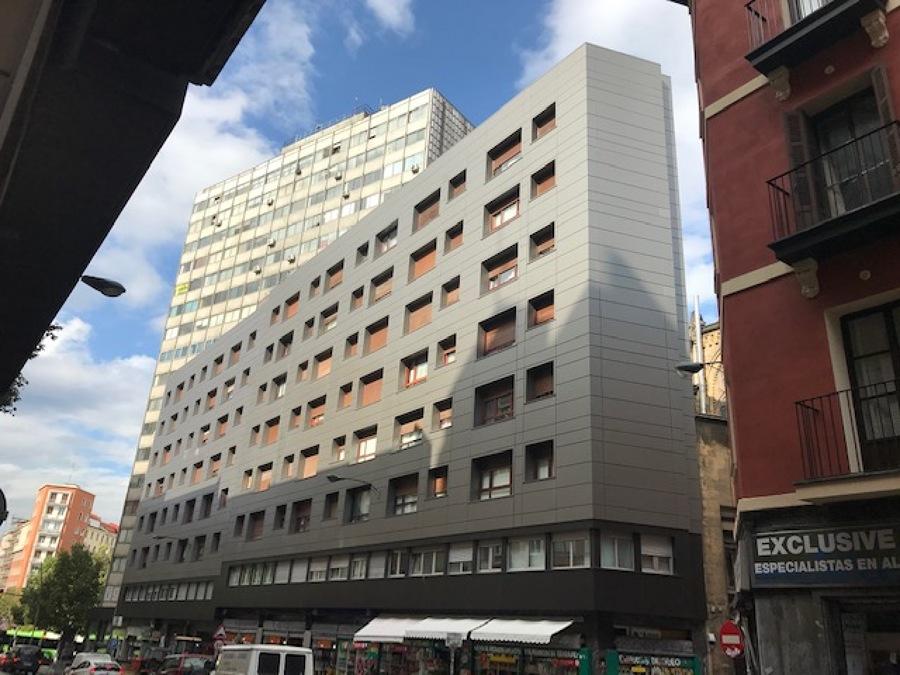 Rehabilitación Fachada Ventilada - Bilbao