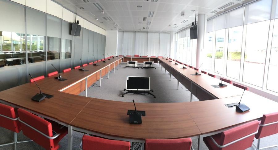 Instalaciones salas de reuniones