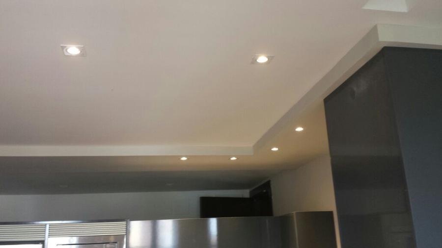 techos con fosa e iluminacion