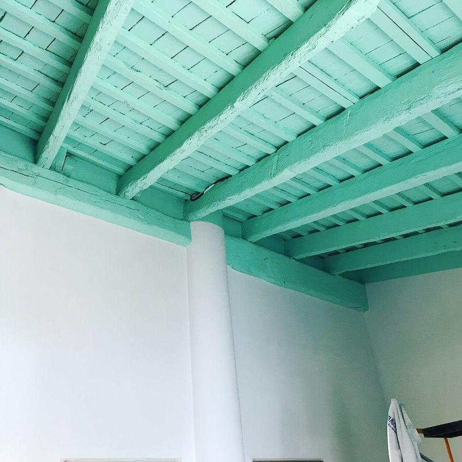 Restauración de Vigas y techo en casa antigua