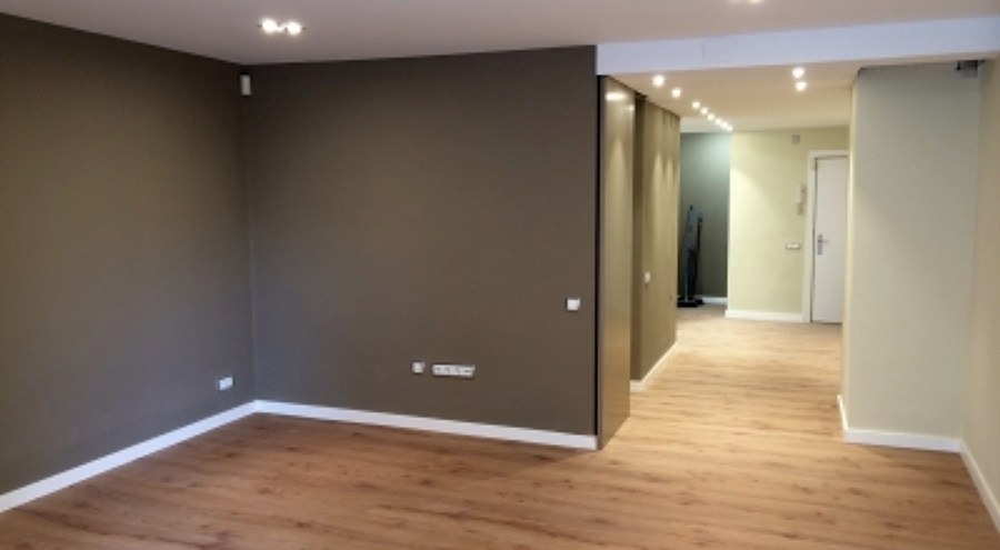 foto quitar gotele alisar paredes y pintura de adelsilv