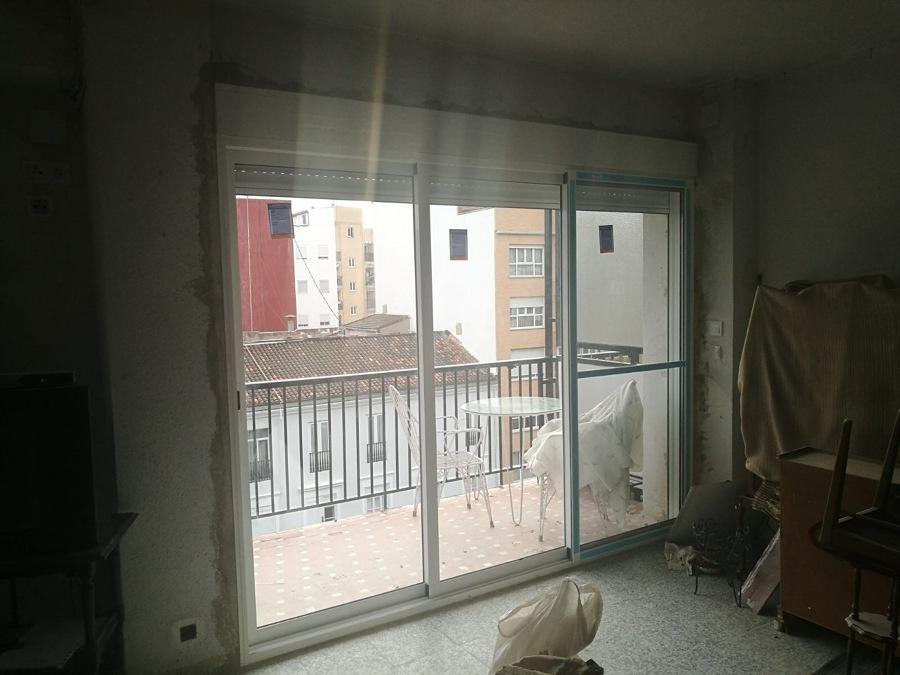 ventanas con obra en paterna