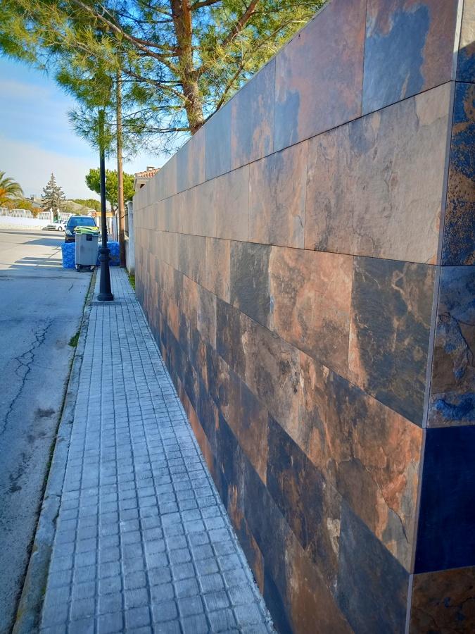 Muros de plaqueta