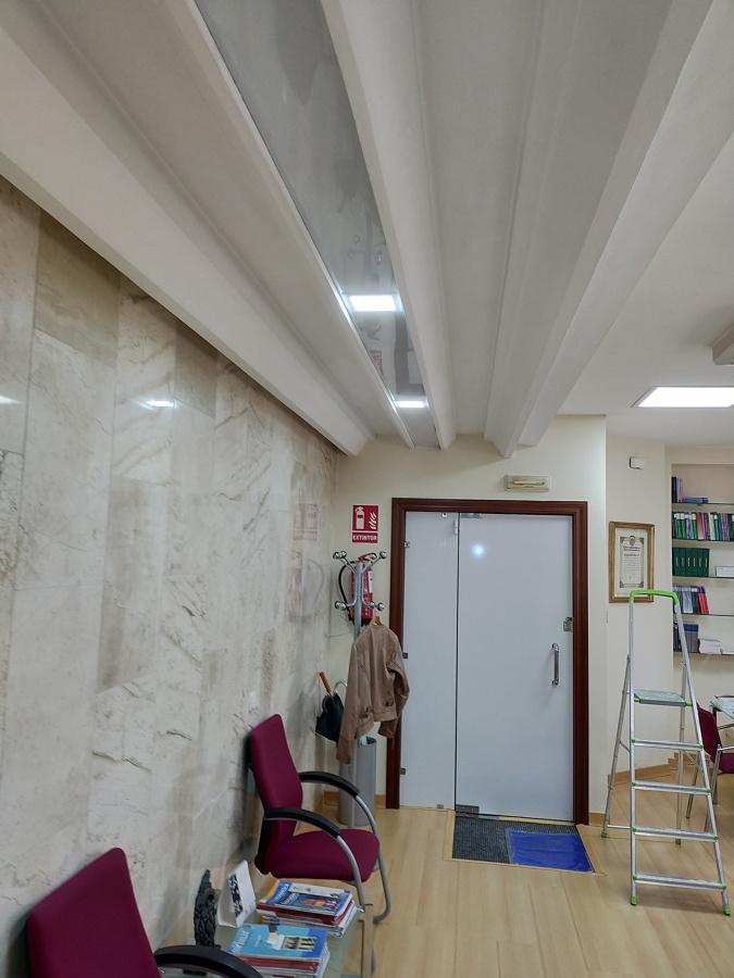 Alumbrado oficinas