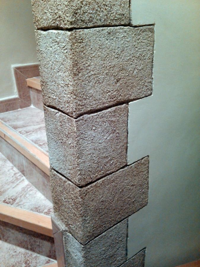Foto imitacion de piedra de gamella y costet 286677 for Como pintar imitacion piedra