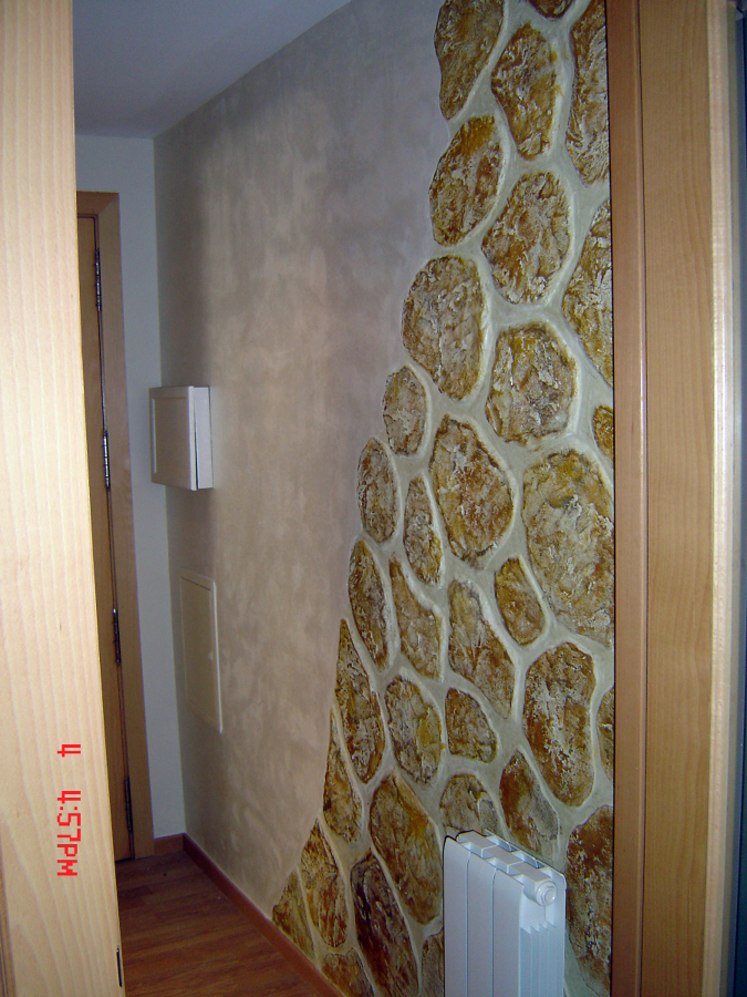 Foto imitaci n piedra de pinturas faro 219148 habitissimo for Plaqueta imitacion piedra para exterior