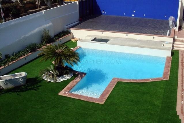 Foto imma carner interiorismo piscinas paisajismo de for Paisajismo para piscinas