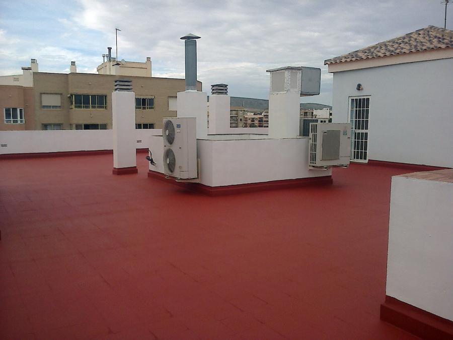 Impermeabilización cubierta en Torrellano