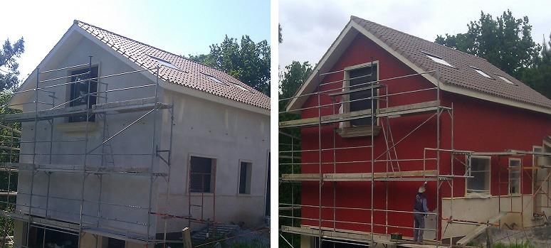Impermeabilización de Fachada 300 m2