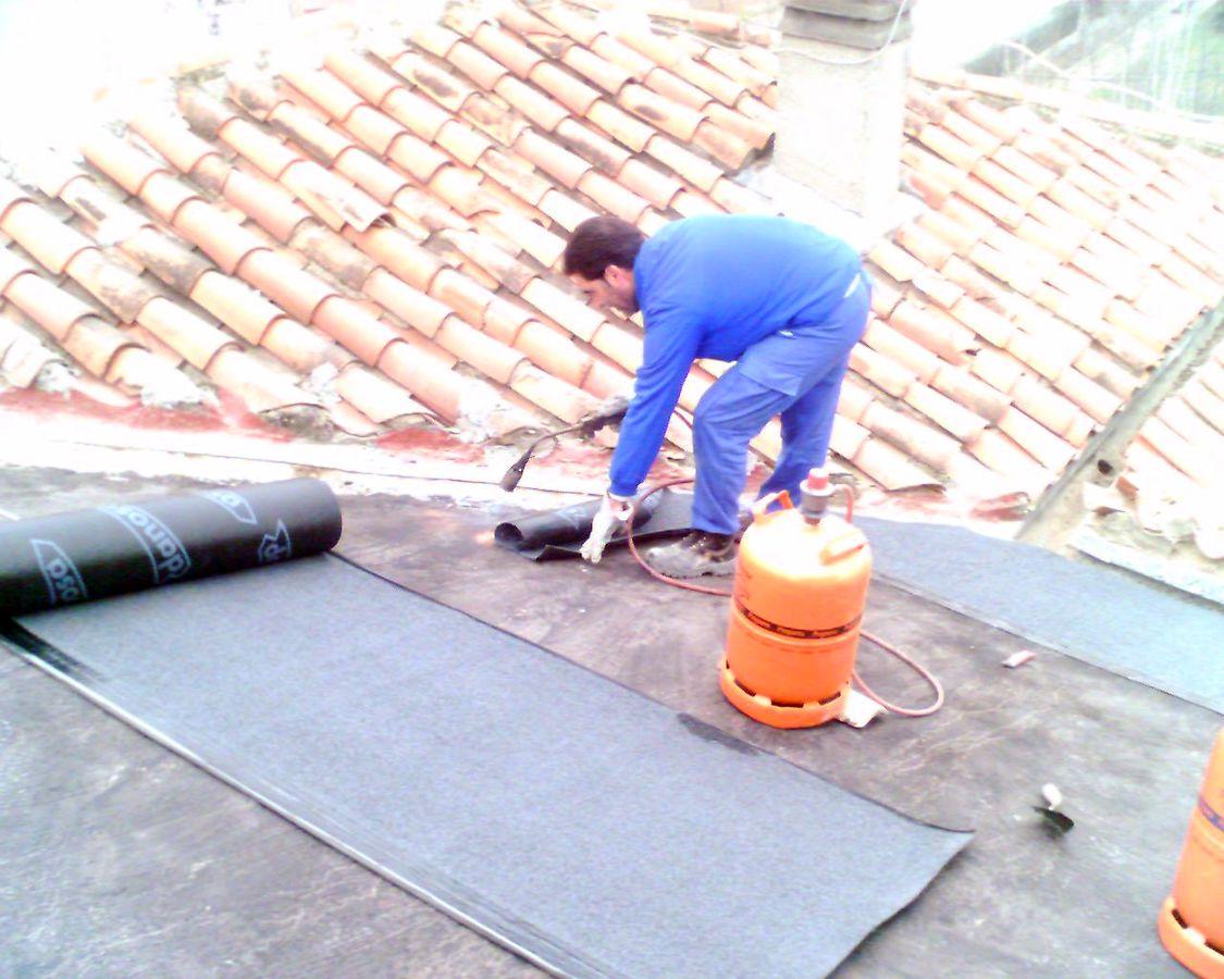 Foto impermeabilizacion de tejado de tfa gesti n de - Impermeabilizacion de tejados ...