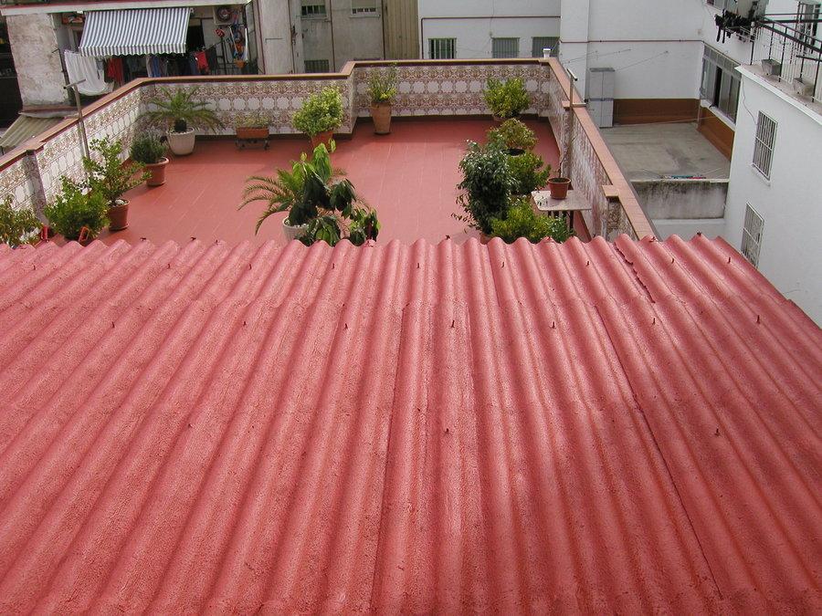 Foto impermeabilizacion de terraza y tejado con membranas de poliuretanos de cubiertas sancama - Tejado a un agua ...