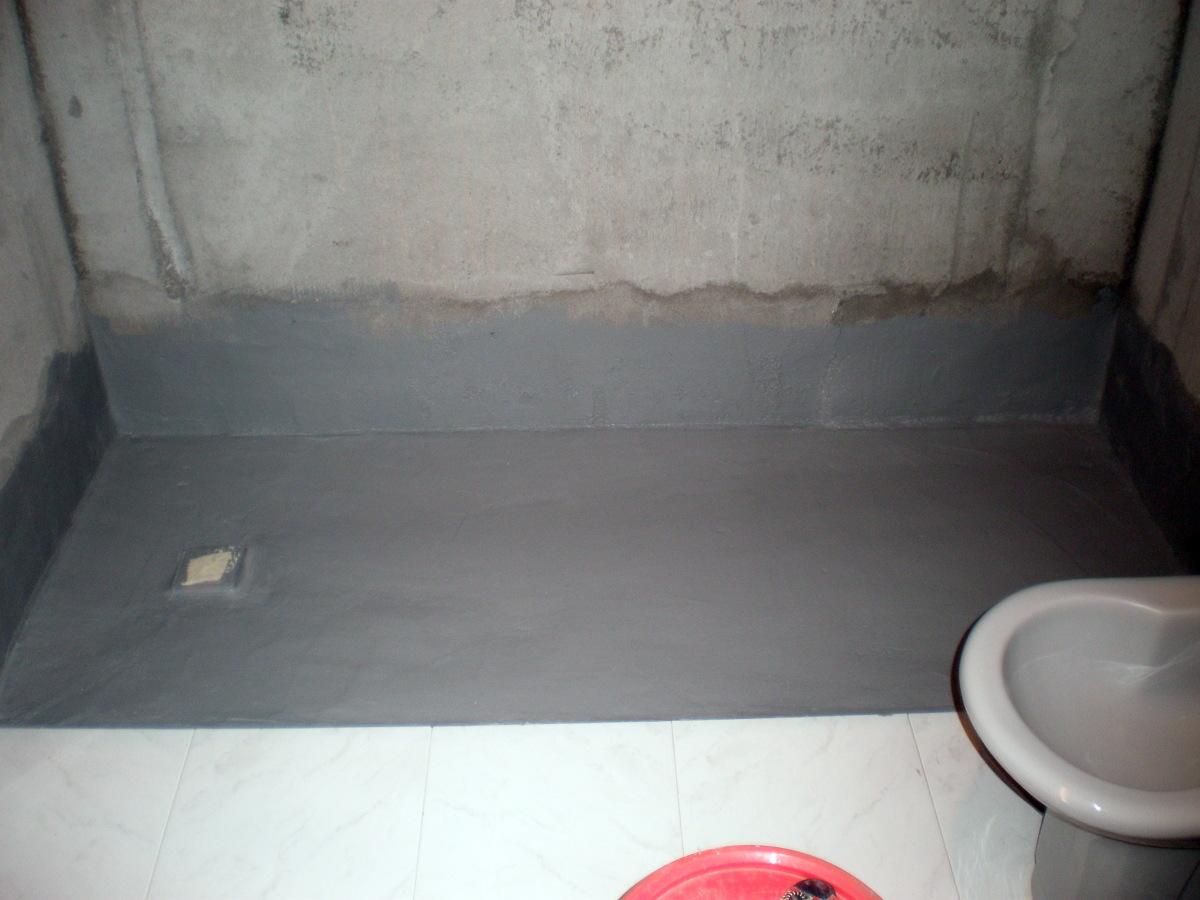 foto impermeabilizacion plato de ducha de corema
