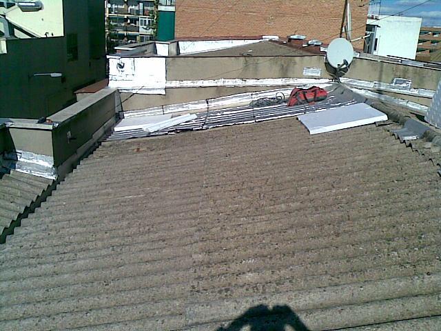 Foto impermeabilizaci n tejado de uralita de de lite - Impermeabilizacion de tejados ...