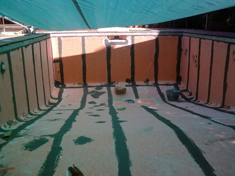 Impermeabilizaciòn vaso de piscina