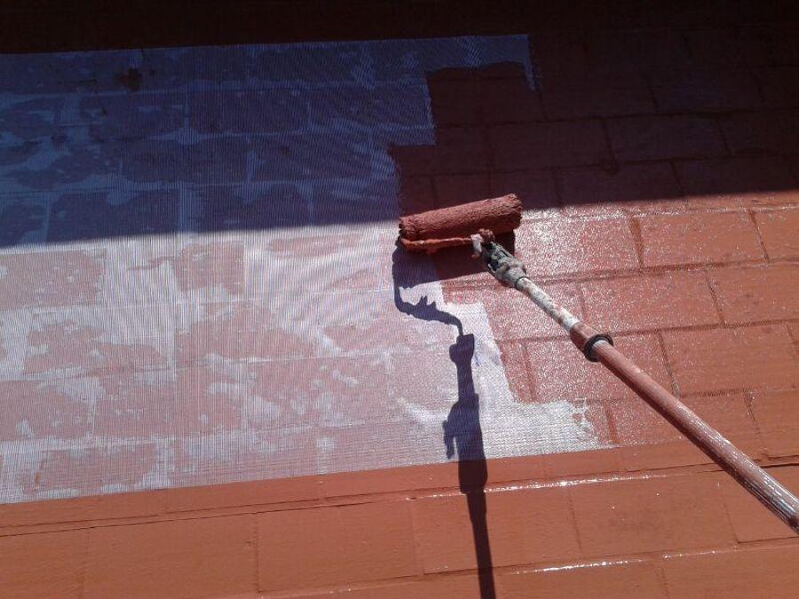 impermeabilizando terraza
