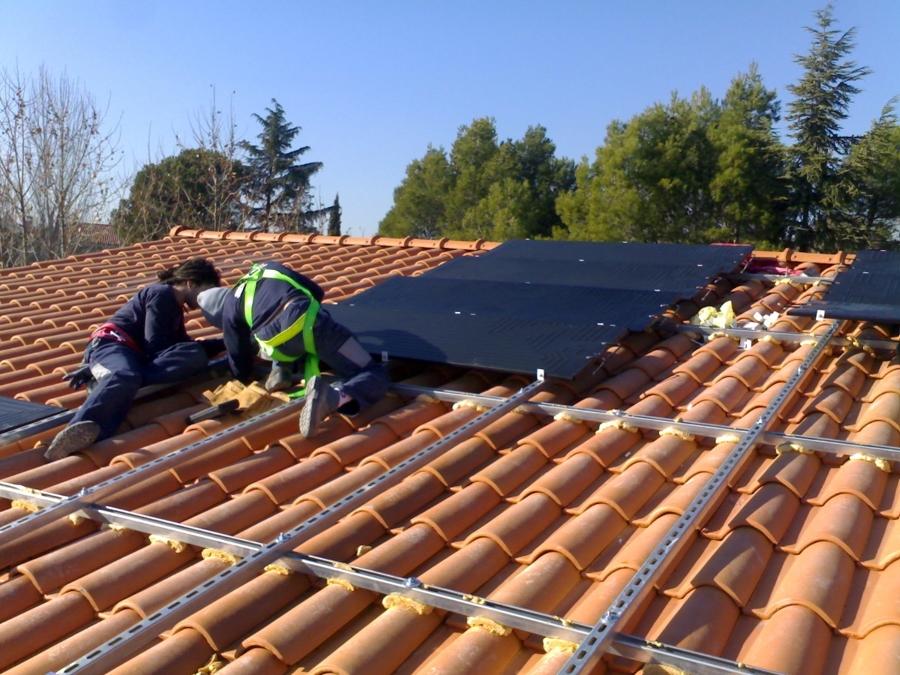 Foto implantacion de energia solar de zamora y de paz - Arquitectos en zamora ...