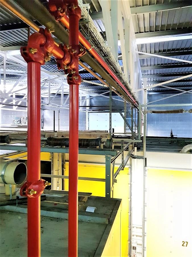 Proteccón Activa contra Incendios en Nace Indústrial