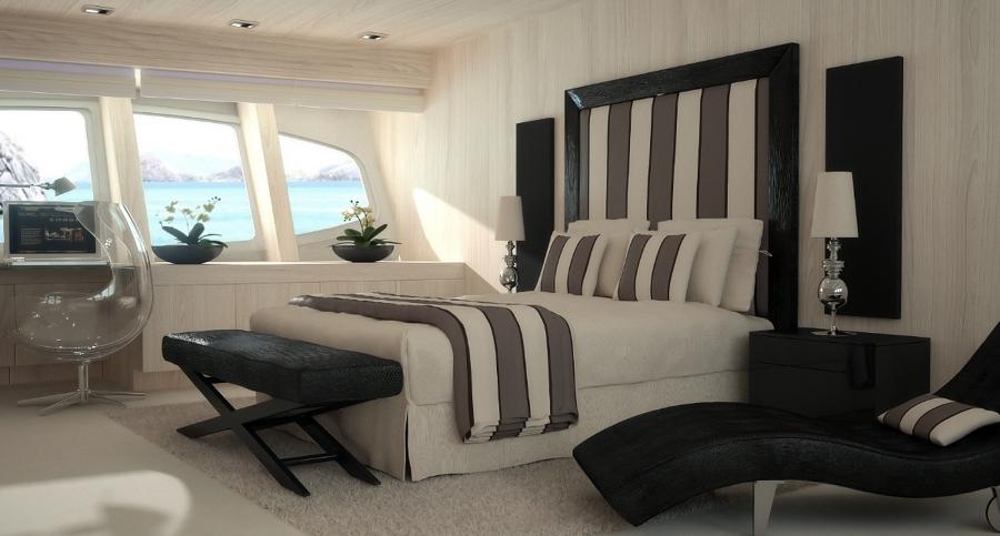 Infografía 3D decoración Barco Vulcan