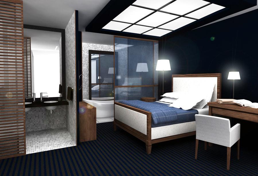 Infografía de Dormitorio