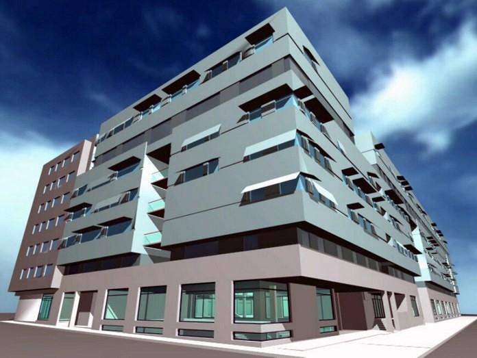 Foto proyecto fin de carrera del arquitecto antonio for Arquitectura las palmas