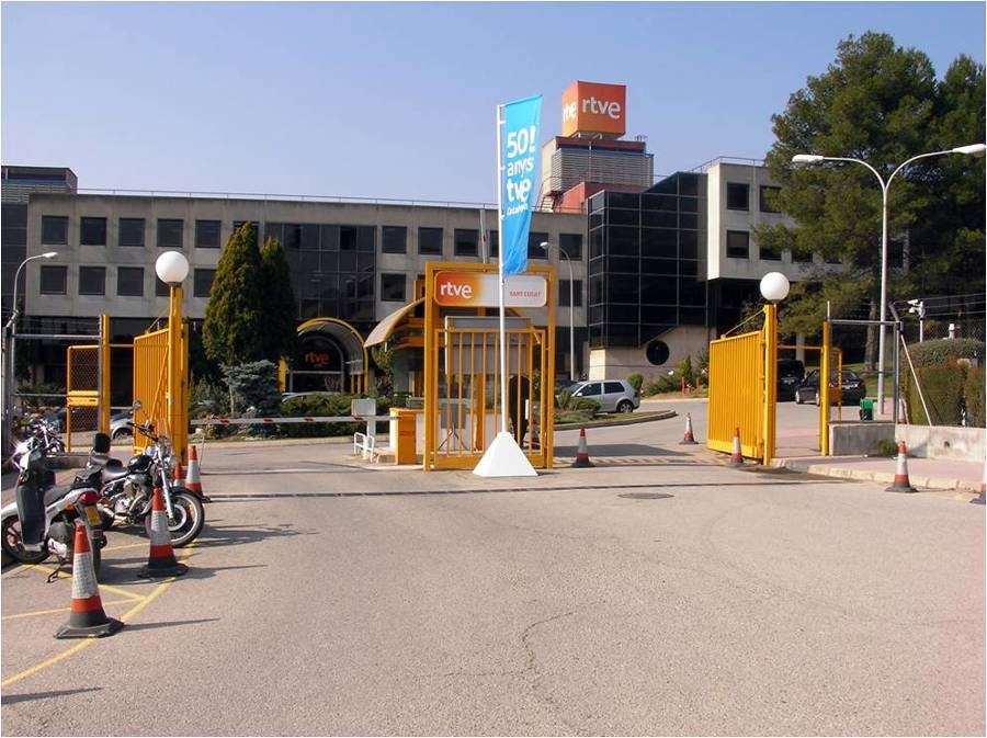 Ingenieria sobre acceso de un centro RTVE