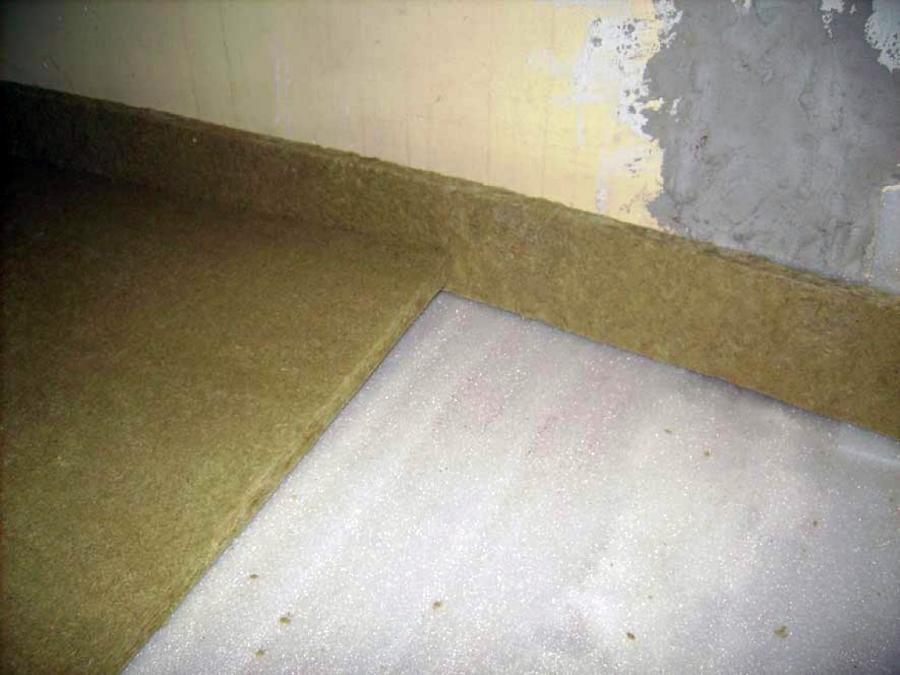 Foto insonorizacion de suelo de aislacustic albacete - Material de insonorizacion ...