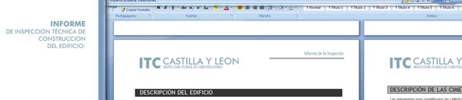 INSPECCION TECNICA DE EDIFICIOS Y COSTRUCCIONES (ITC)