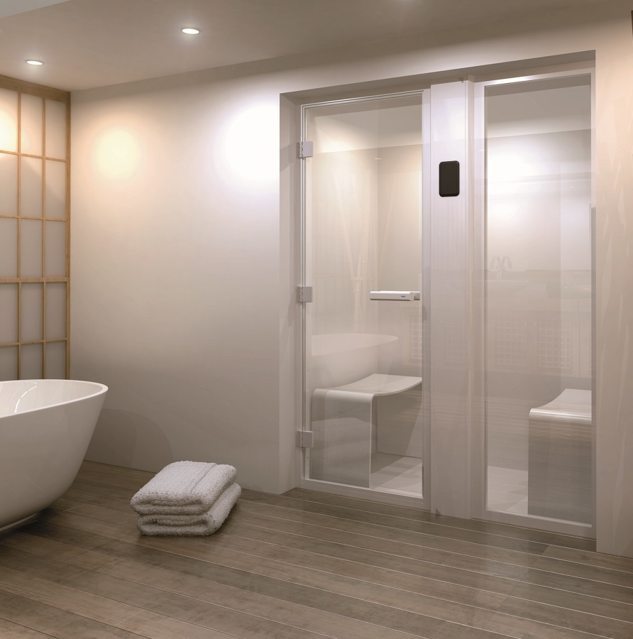 Baño turco en lavabo