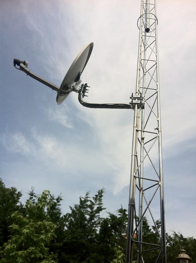 Instalacion Antenas SAT parabolicas