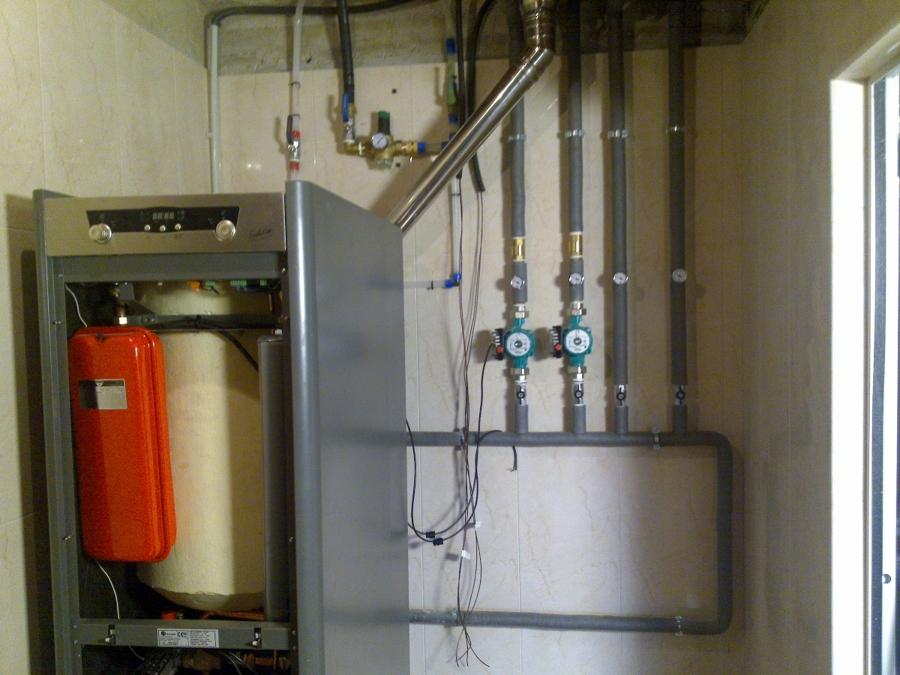 Foto instalacion caldera condensacion para suelo radiante - Suelo radiante aerotermia opiniones ...
