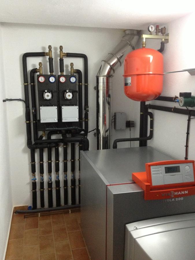 Instalacion caldera gasoil unifamiliar