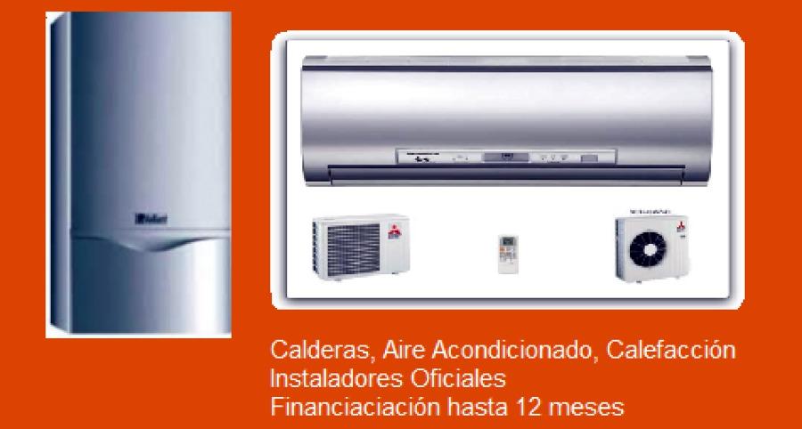 Instalacion caldera y aire acondicionado