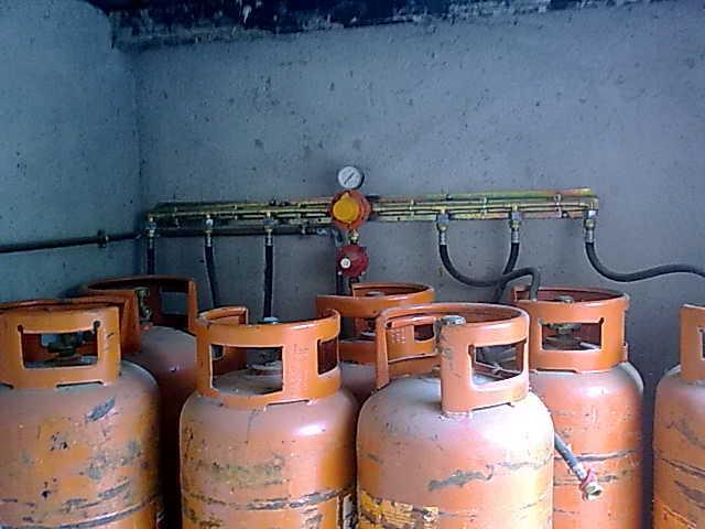 instalacion comercial gas propano GLP