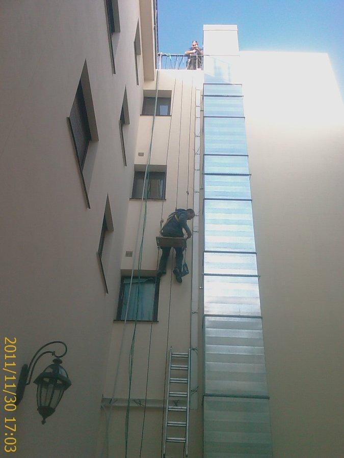 instalación de acometida línea de interconeccion vrv unidades exteriores con las interiores