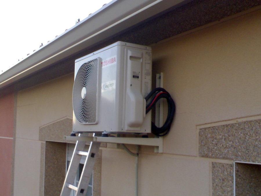 foto instalaci n de aire acondicionado en vivienda de