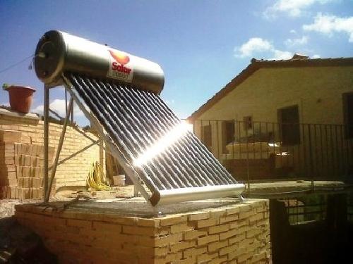 Instalacion de energía solar termica 2