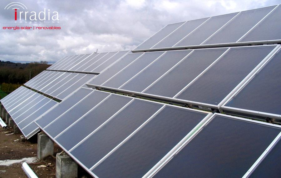 Foto instalaci n de energ a solar t rmica de irradia - Energia solar tenerife ...