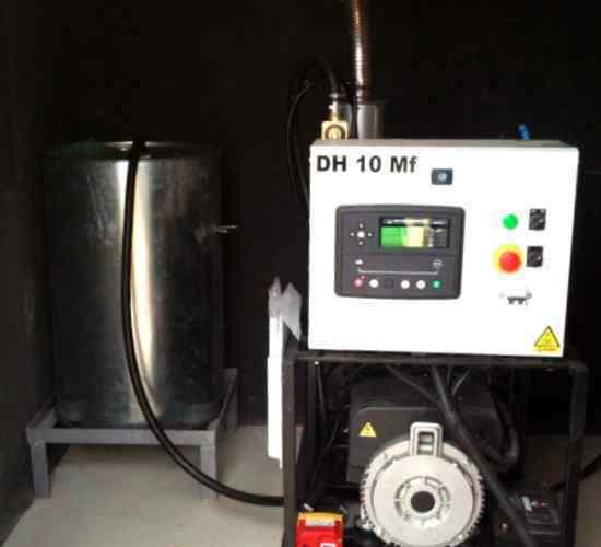 Instalacion de grupo electrogeno con arranque automatico.
