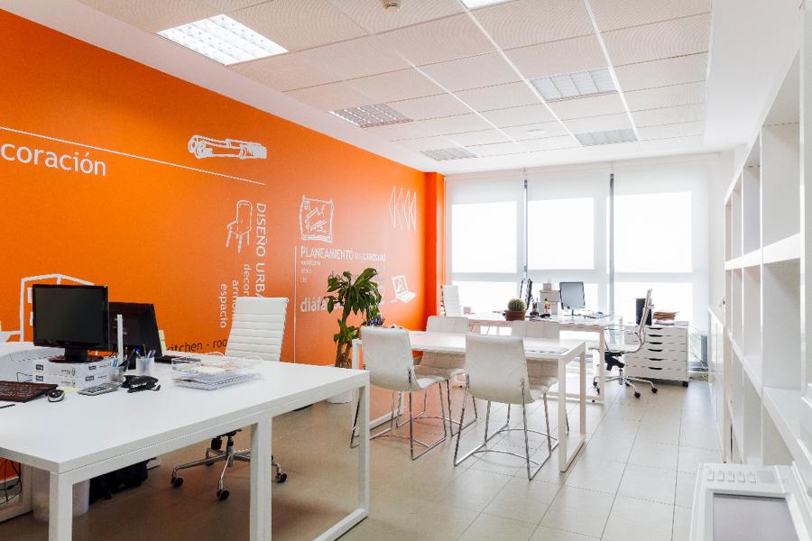 Instalación de oficinas
