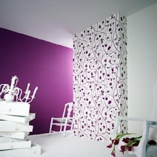 Foto instalaci n de papel pintado vinilico de empapelados revestimientos vinilicos 229176 - Papel pintado vinilico ...