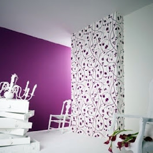 Foto instalaci n de papel pintado vinilico de empapelados for Papel pintado tenerife