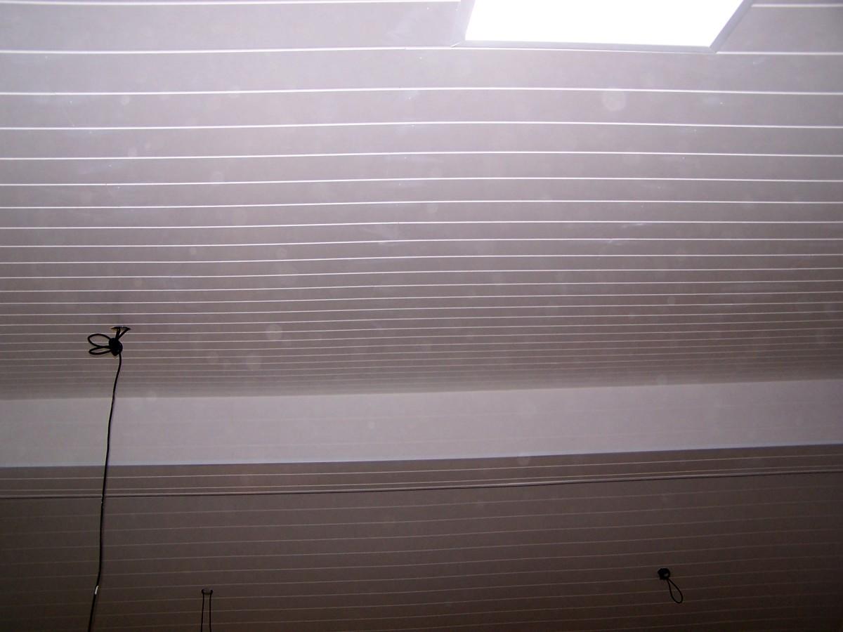 Instalación de techo en buardilla