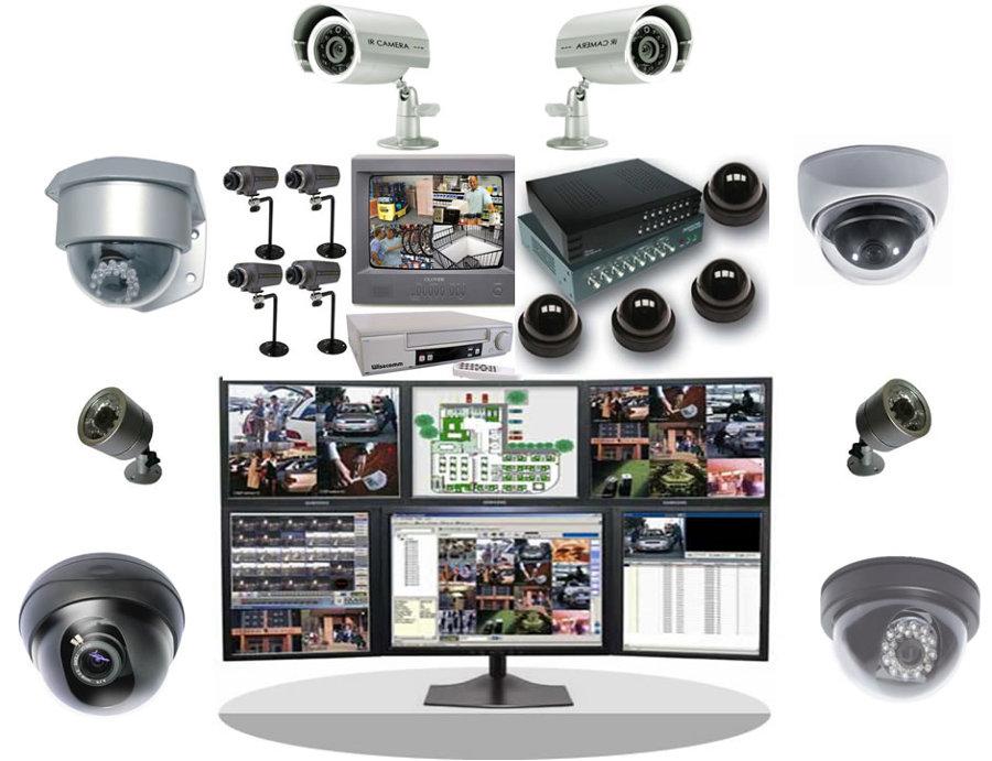 Instalación de videocámaras de videovigilancia