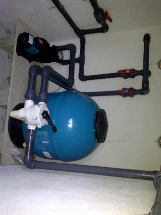 instalacion filtracion piscina