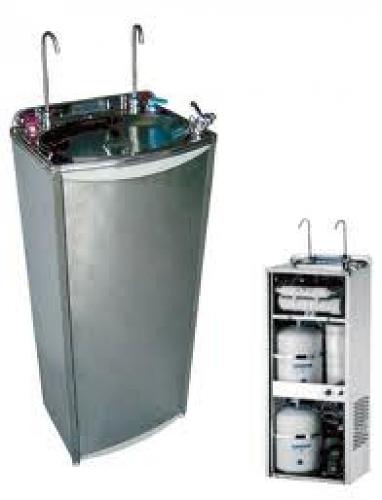 instalación fuente agua fria