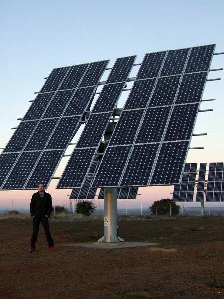 Foto instalaci n fv conectada a red de geosac for Instalacion fotovoltaica conectada a red