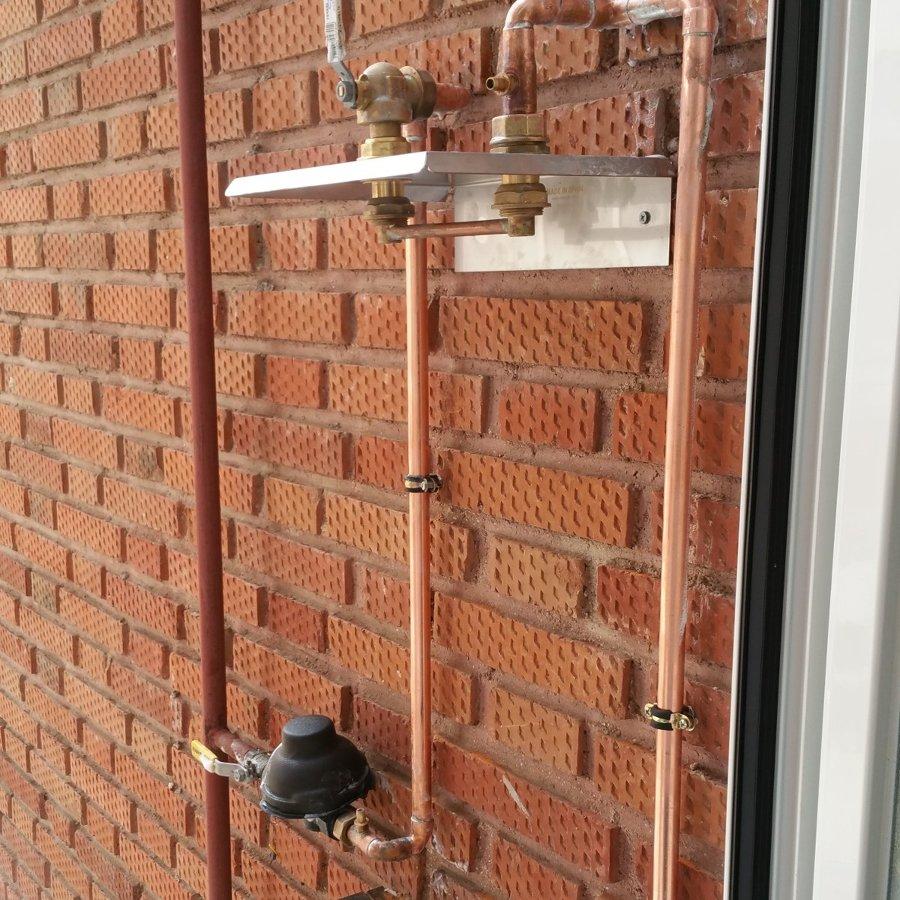 Instalación basica gas natural