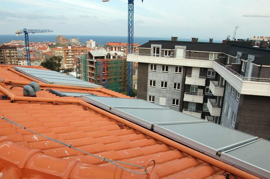 Instalación solar en Castro Urdiales.